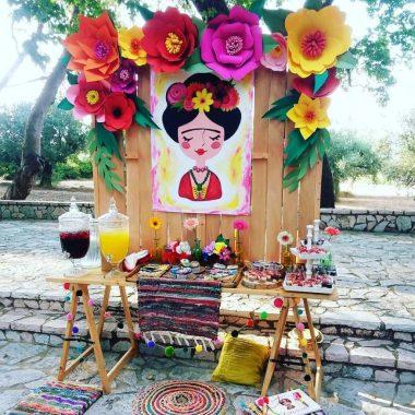 """Βάπτιση με θέμα """"Frida Kahlo"""""""