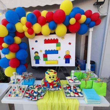 Διακόσμηση Πάρτυ Lego