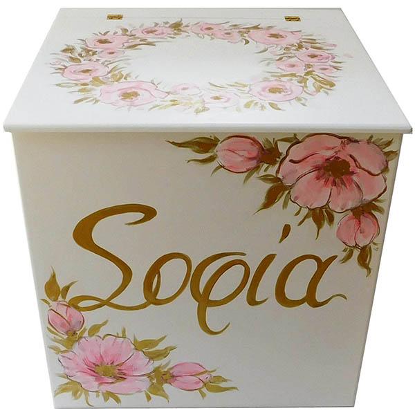 λουλούδια κουτί