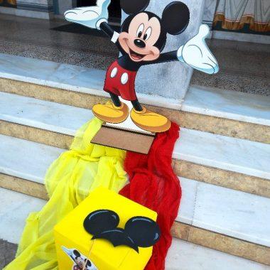 """Βάπτιση με θέμα """"Mickey Mouse"""""""