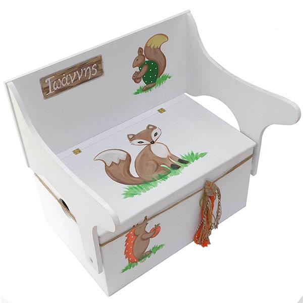 Κουτί βάπτισης ζωάκια 1