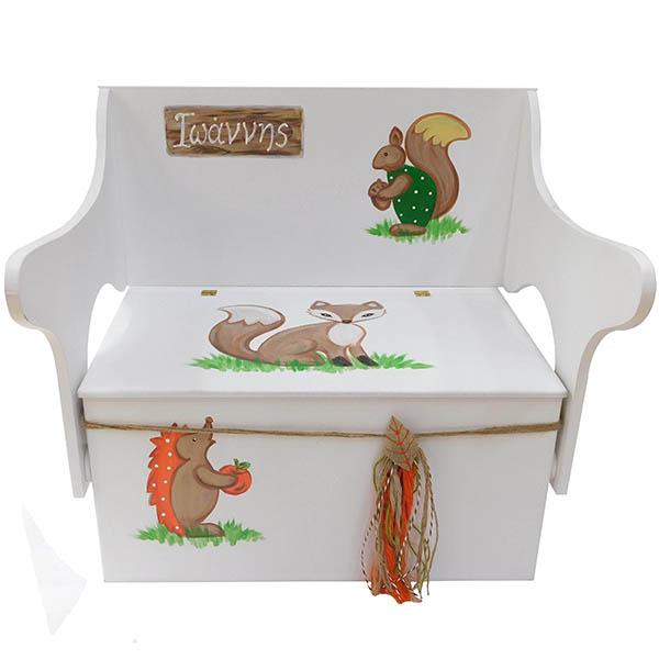 Κουτί βάπτισης ζωάκια